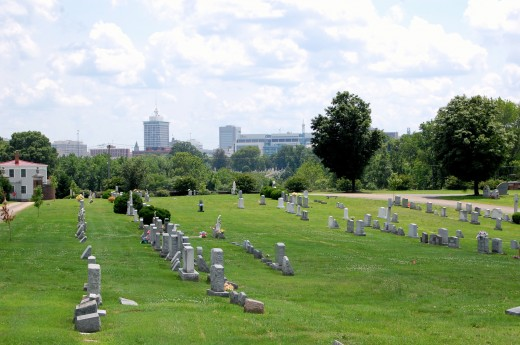 Holy Cross Cemetery (Richmond, Virginia)-20