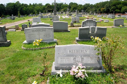 Holy Cross Cemetery (Richmond, Virginia)-21