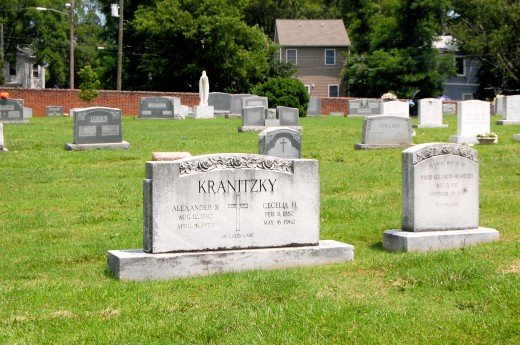 Holy Cross Cemetery (Richmond, Virginia)-8